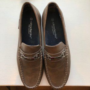 Akademiks Brown Loafer with Buckle size 10.5
